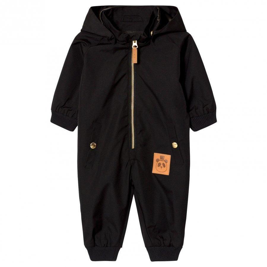 Mini Rodini Pico Baby Coverall Black Toppahaalari