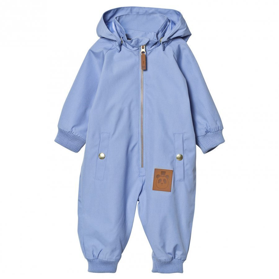 Mini Rodini Pico Coverall Light Blue Sadehaalari