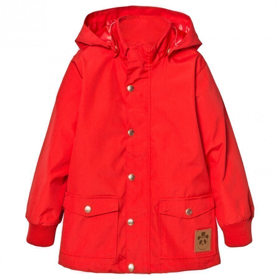 Mini Rodini Pico Jacket Red Kuoritakki