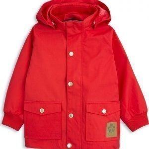 Mini Rodini Pico Jacket Red Lasten Välikausitakki