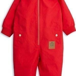 Mini Rodini Pico Overall Red Lasten Välikausihaalari