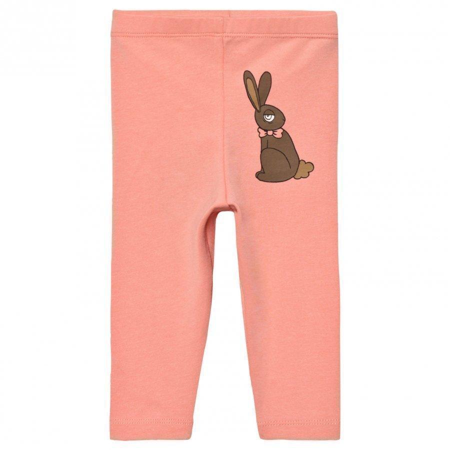 Mini Rodini Rabbit Leggings Pink Legginsit
