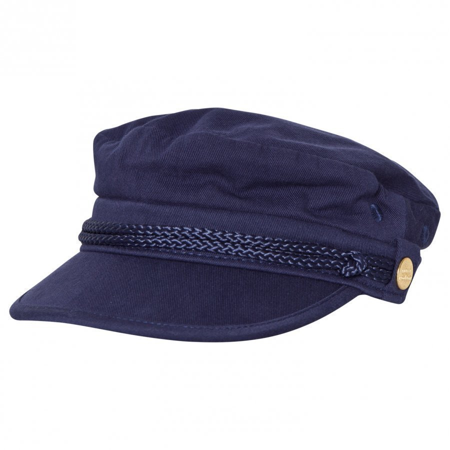 Mini Rodini Skipper Hat Navy Lippis