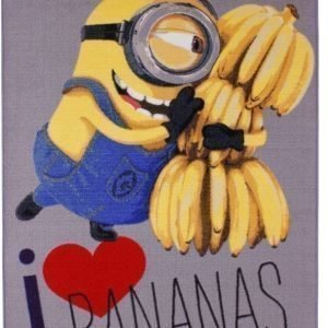 Minions Matto Love bananas 95 x 133 cm