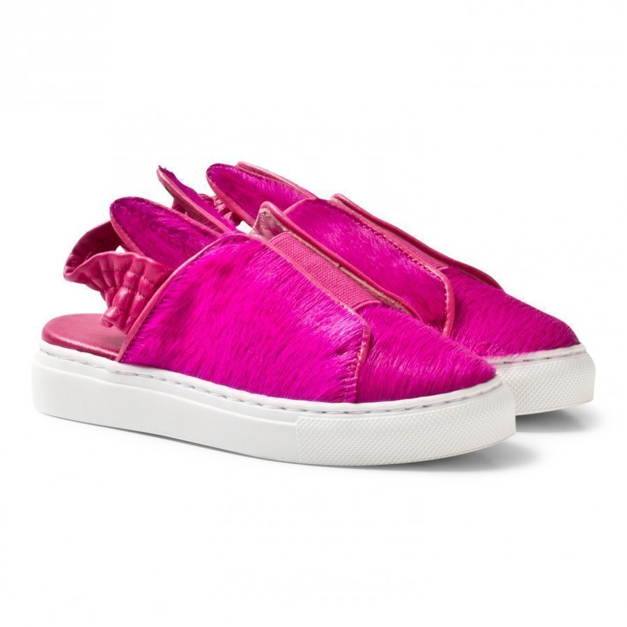 Minna Parikka Fuchsia Bunny Slip Mini Slip On Sandaalit