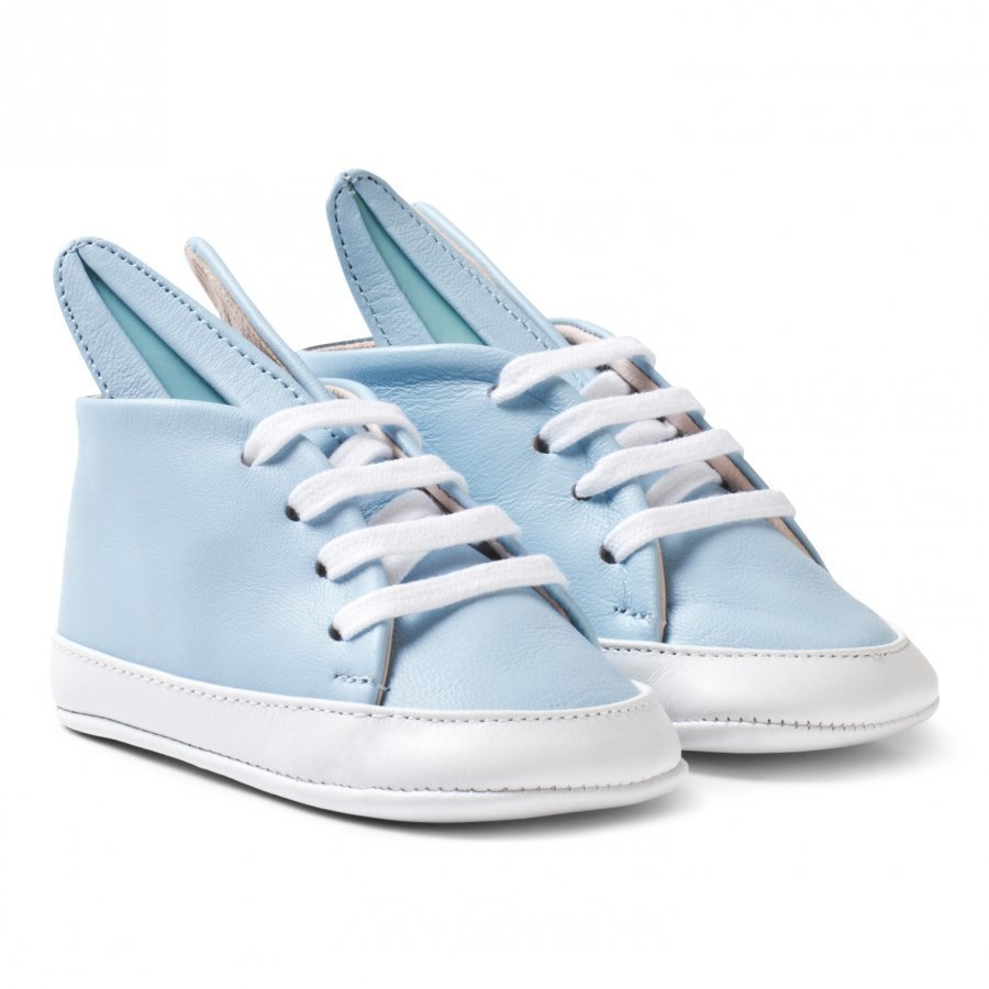 Minna Parikka Pale Blue And White Baby Bunny Trainers Lenkkarit