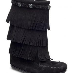 Minnetonka 3-Layer Fringe Boot K