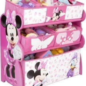 Minnie Mouse Säilytyshylly 6 laatikkoa