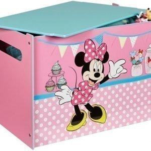 Minnie Mouse Säilytyslaatikko puuta Vaaleanpunainen