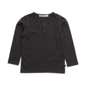 Minymo Basic Grandad T-Shirt Ls -Solid