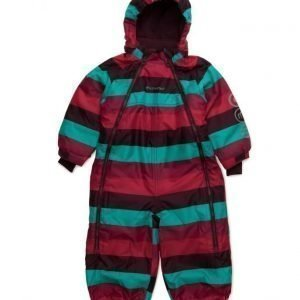 Minymo Gam 12 -Snowsuit -Striped