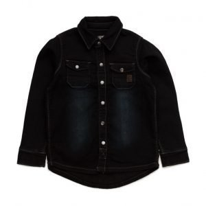 Minymo Hubert Shirt Knit Denim
