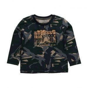 Minymo Hugin Tshirt Ls Camoflage