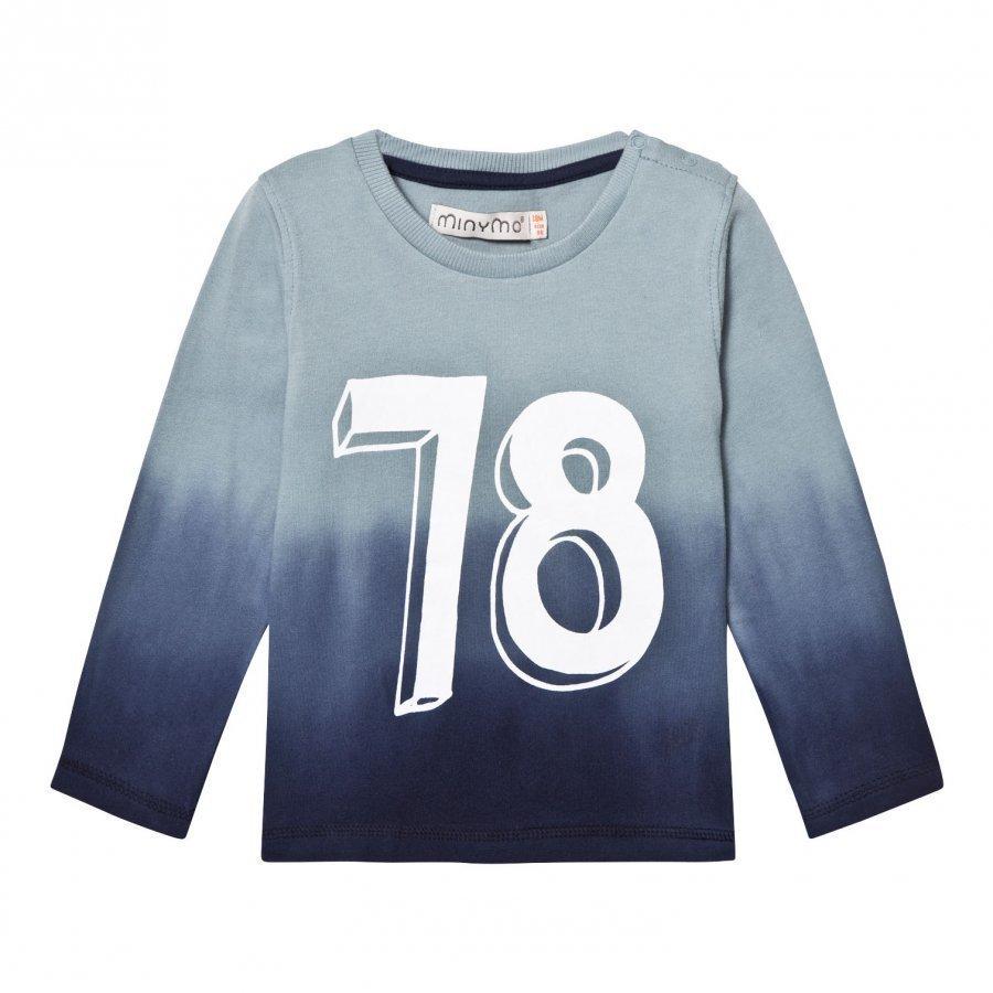 Minymo Jake 32 T-Shirt Lead Pitkähihainen T-Paita