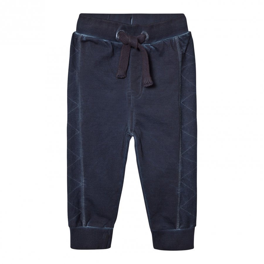 Minymo Jake 52 Sweat Pants W.Stitch Dark Navy Verryttelyhousut