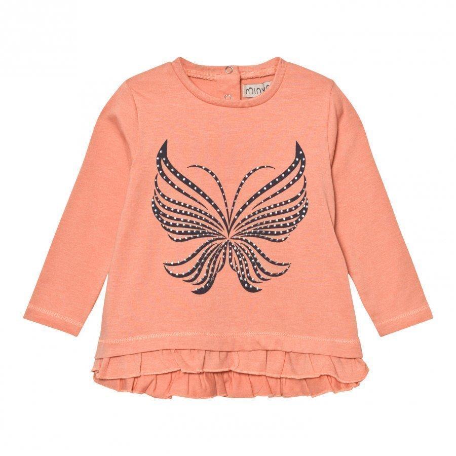 Minymo Julia 39 Tunic With Butterfly Crabapple Paita