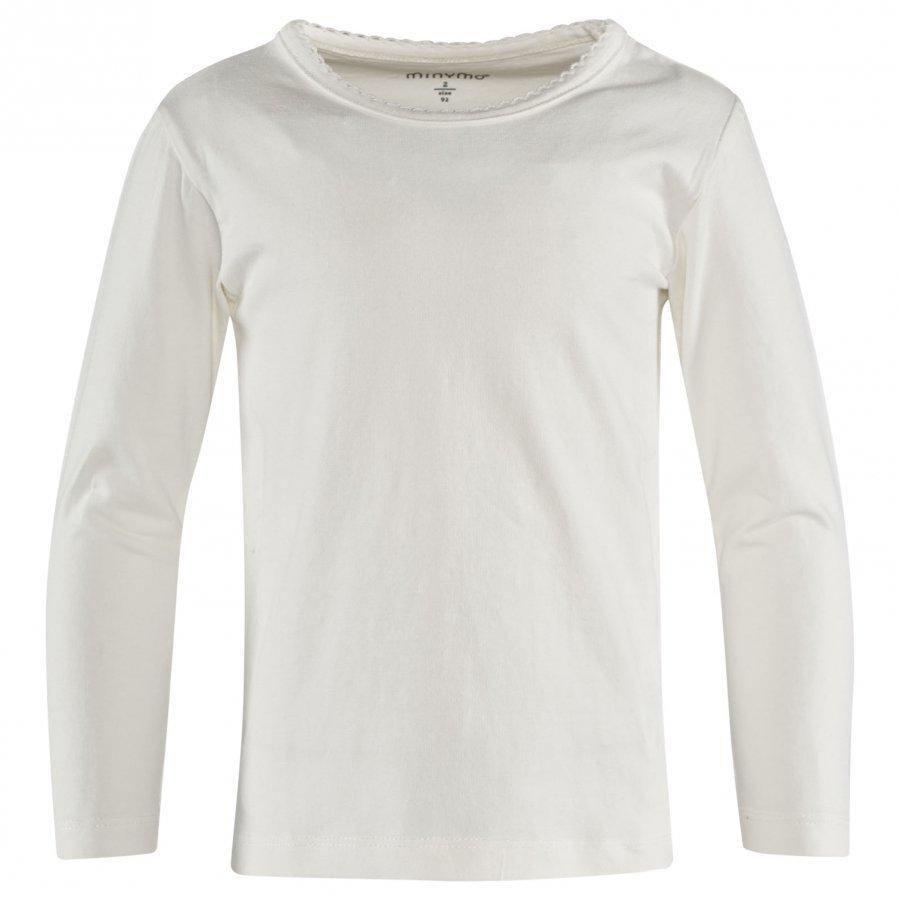 Minymo Ls T-Shirt 2-Pack Dark Pink Pitkähihainen T-Paita