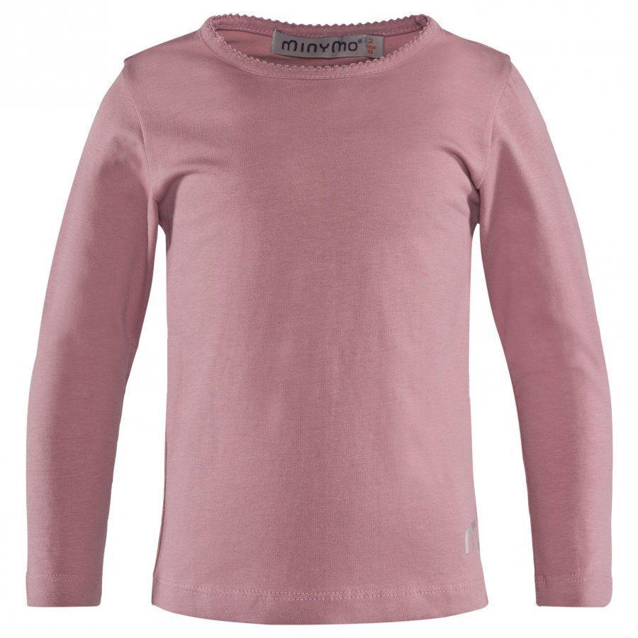Minymo T-Shirt Ls Rose Pitkähihainen T-Paita