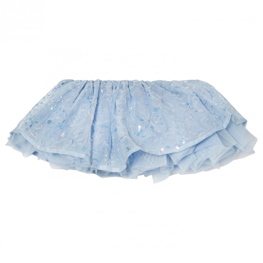 Mirella Blue Sequin Butterfly Tutu Skirt Ballerinahame