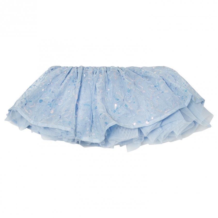 Mirella Blue Sequin Butterfly Tutu Skirt Ballerinahame