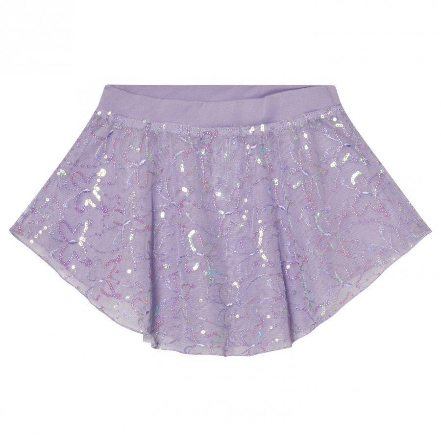 Mirella Lilac Sequin Butterfly Tulle Skirt Ballerinahame