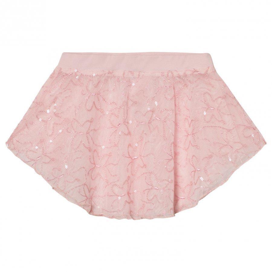 Mirella Pink Sequin Butterfly Tulle Skirt Ballerinahame