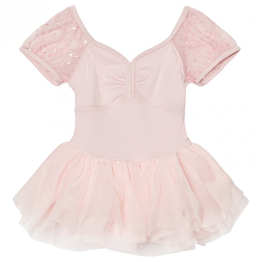 Mirella Pink Sequin Butterfly Tutu Dress Ballerinamekko