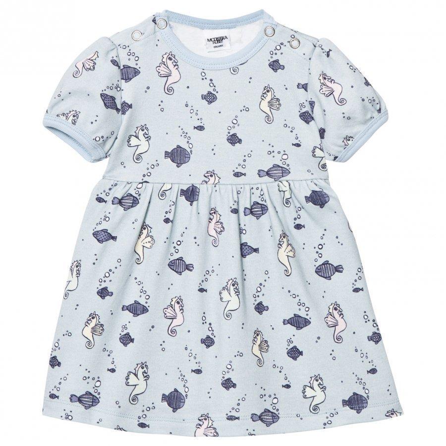 Modéerska Huset Baby Dress Going For A Ride Mekko