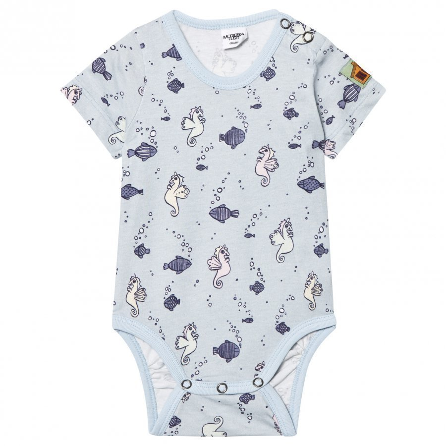Modéerska Huset Short Sleeve Baby Body Going For A Ride Body