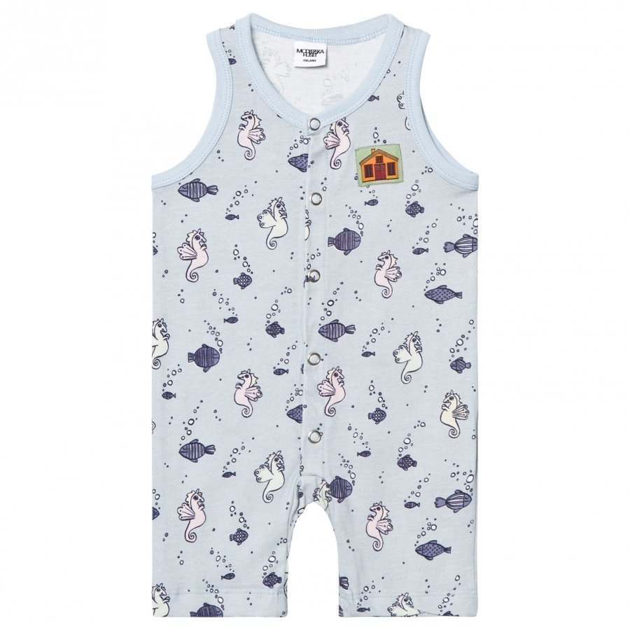 Modéerska Huset Sleeveless Romper Going For A Ride Romper Puku