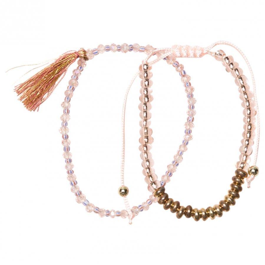 Molo 2-Pack Delicate Bracelets Cameo/Rose Rannekoru