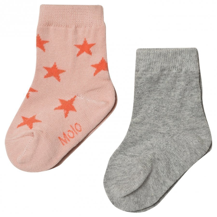 Molo 2-Pack Socks Nesi Cameo Rose Sukat
