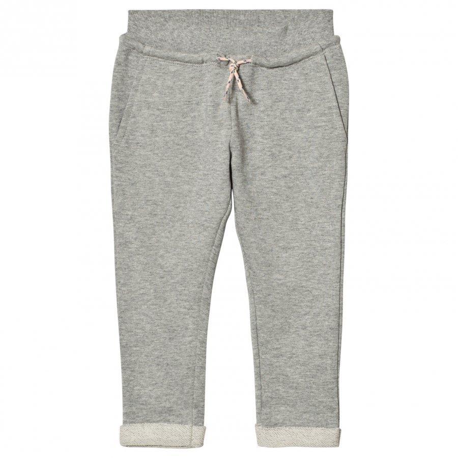 Molo Agnete Soft Pants Grey Melange Verryttelyhousut