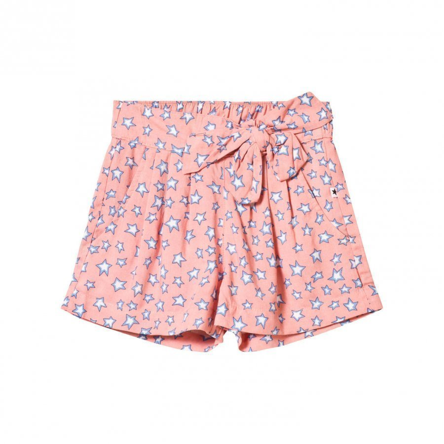 Molo Akayla Shorts Pink Star Housuhame