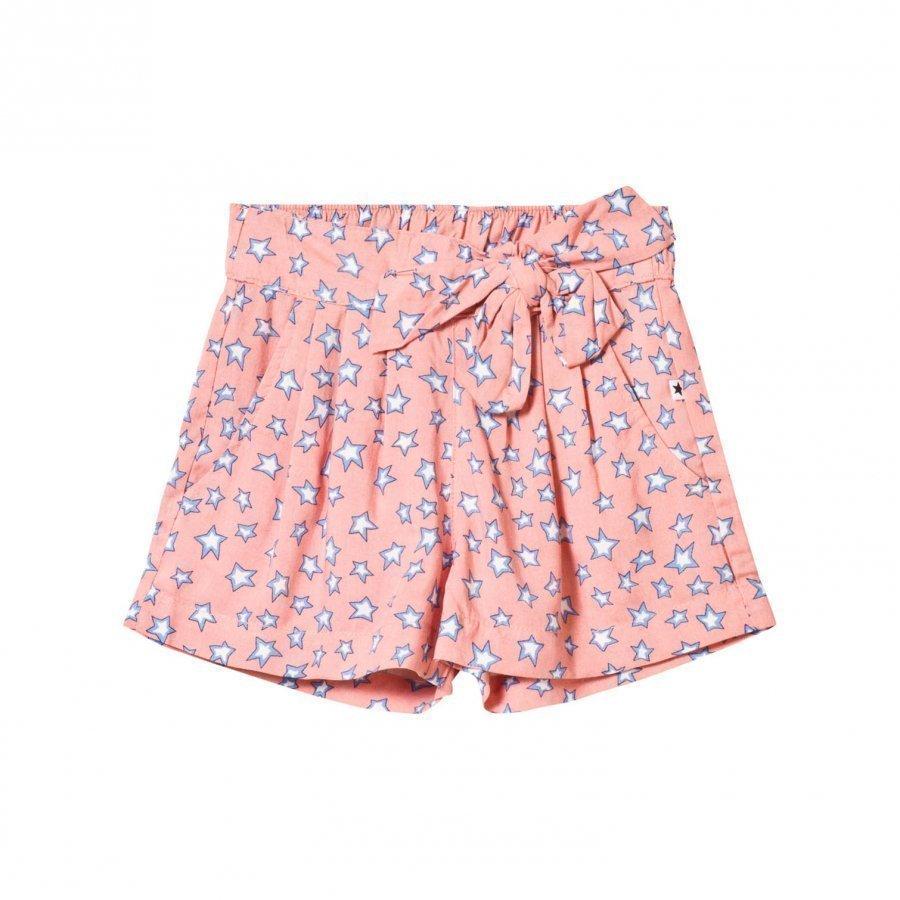 Molo Akayla Shorts Pink Star Housuhame