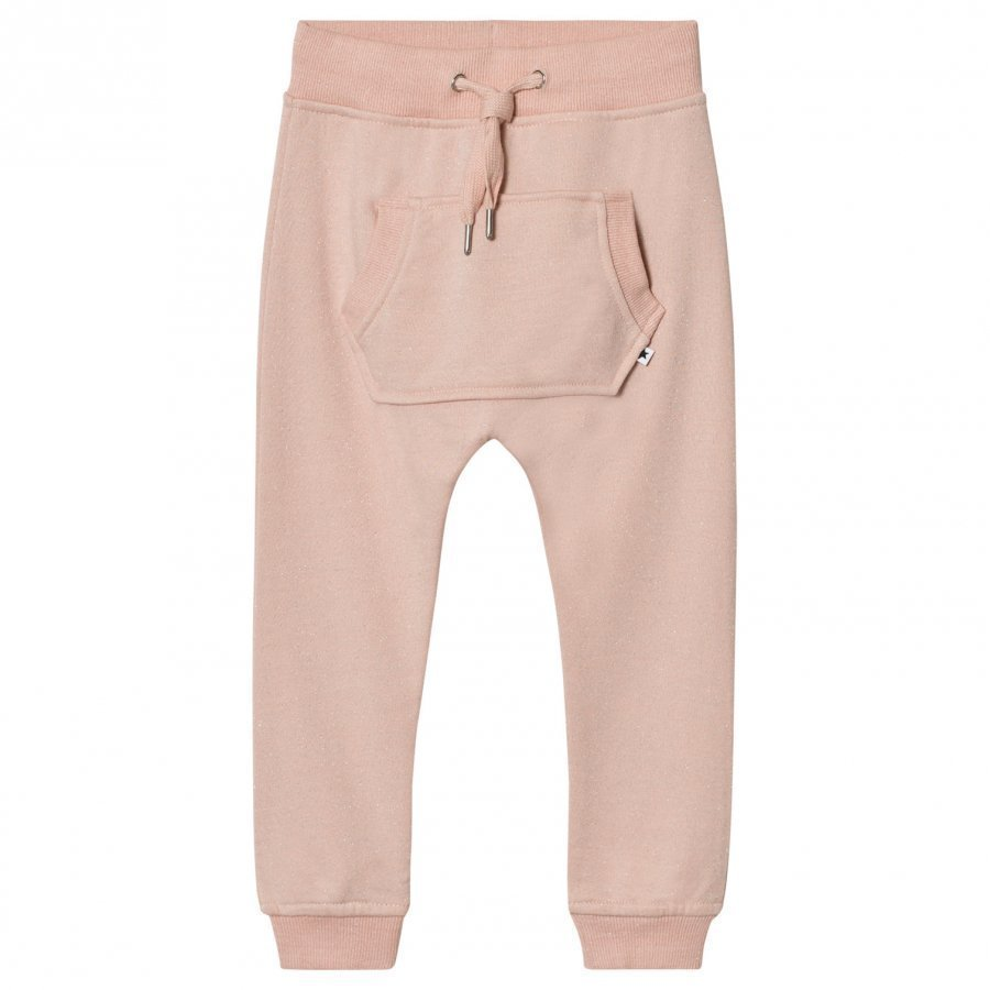 Molo Aliki Soft Pants Cameo Rose Verryttelyhousut