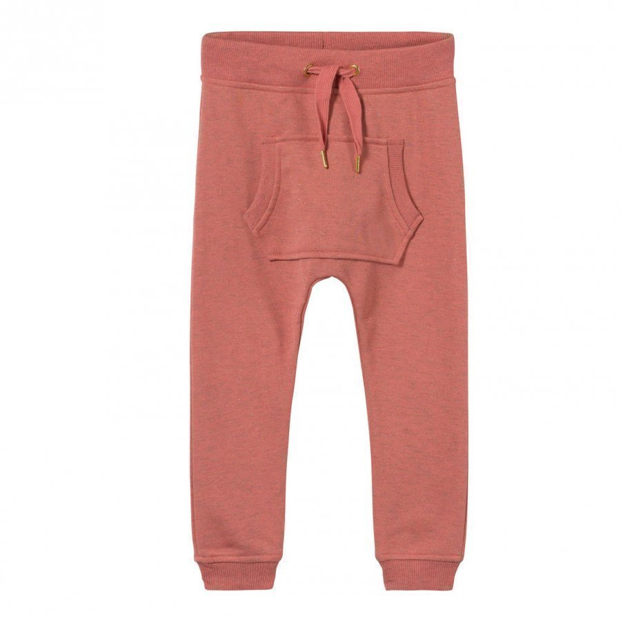 Molo Aliki Soft Pants Spicy Pink Melange Verryttelyhousut