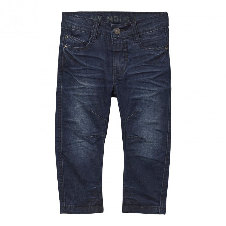 Molo Alonso Pants Deep Dusty Blue Farkut