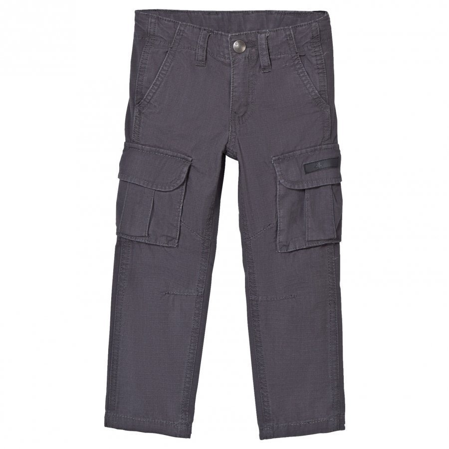 Molo Alvar Cargo Pants Iron Gate Cargo Housut