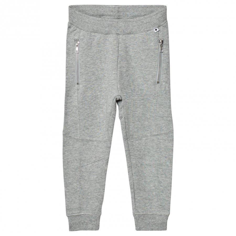 Molo Alvinas Soft Pants Grey Melange Verryttelyhousut