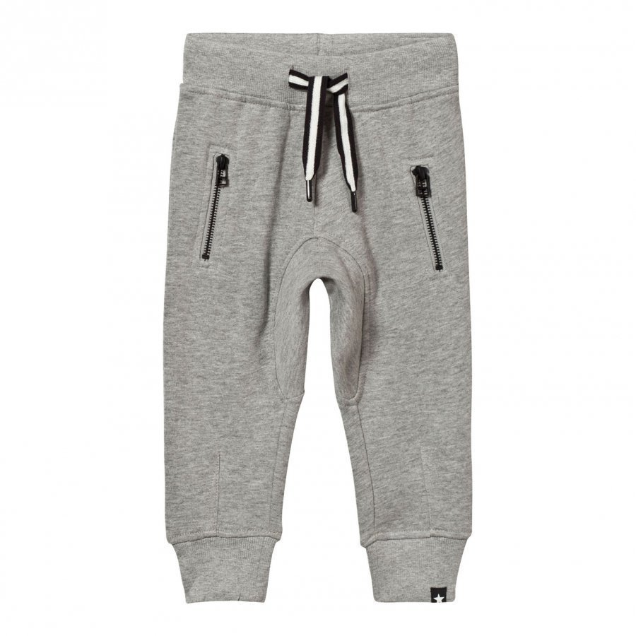 Molo Ashton Pants Grey Melange Housut