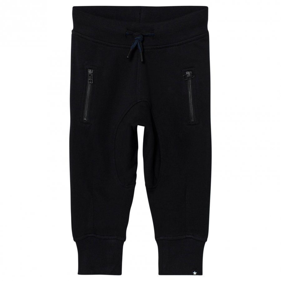 Molo Ashton Soft Pants Black Verryttelyhousut