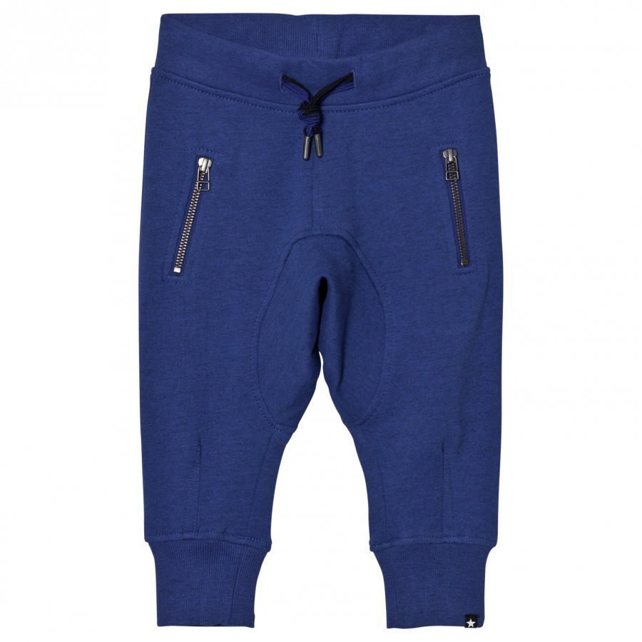 Molo Ashton Soft Pants Monaco Blue Verryttelyhousut