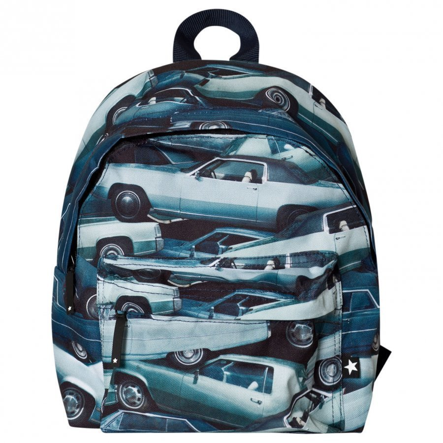 Molo Backpack Stacked Cars Reppu