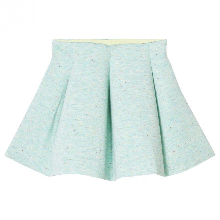 Molo Bell Skirt Clear Aqua Melange Lyhyt Hame