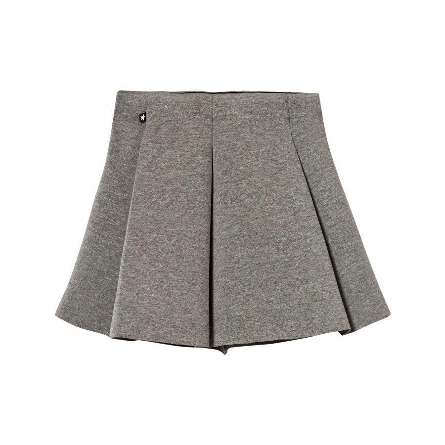 Molo Bell Skirt Grey Melange Lyhyt Hame