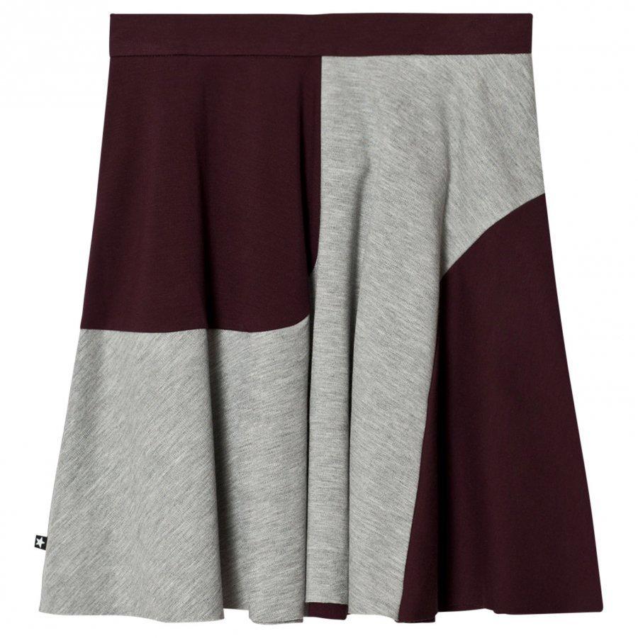 Molo Bera Skirt Grey Melange Hame