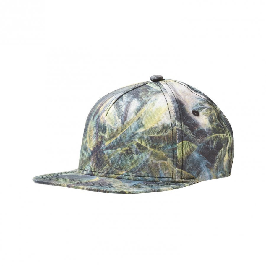 Molo Big Shadow Jr Cap Camo Palms Lippis