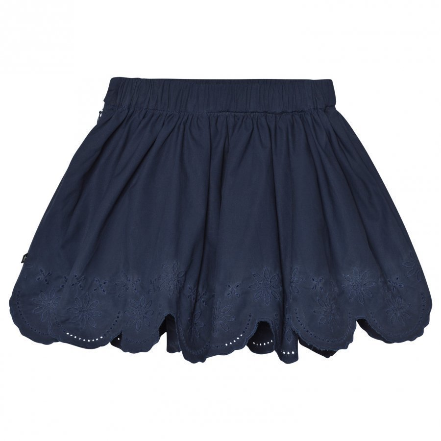 Molo Billie Skirt Casino Blue Lyhyt Hame