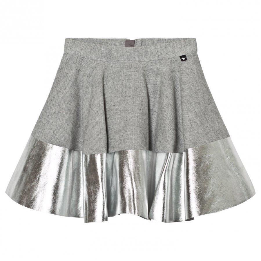 Molo Bonita Skirt Grey Melange Midihame